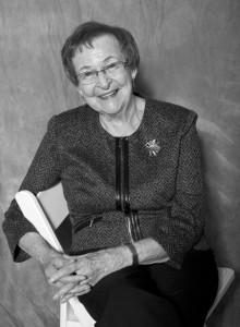 Marge Van Gorp black and white