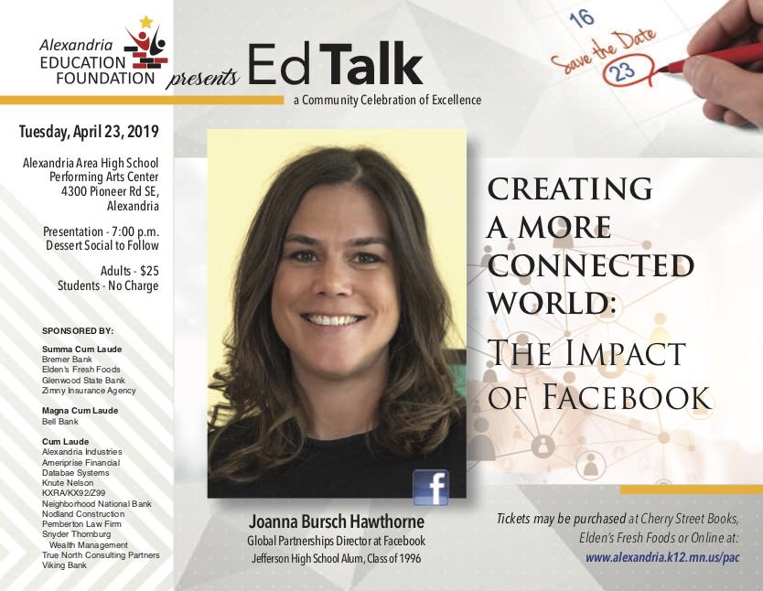 Ed Talk Flyer 1.31.19